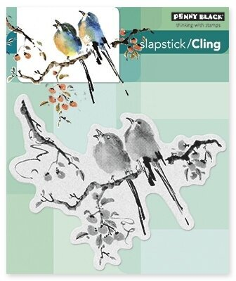 The Sweetest Sound - Slapstick Cling Rubber Stamp