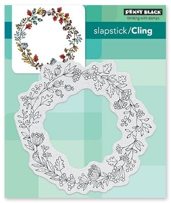 Berry Circle - Slapstick Cling Rubber Stamp