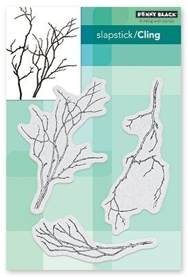 Winter Branches - Cling Rubber Stamp