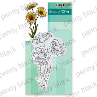 Daisies - Cling Rubber Stamp