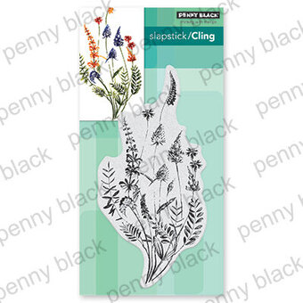 A Floral Twist - Cling Rubber Stamp