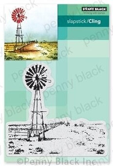 Country Life - Slapstick Cling Rubber Stamp