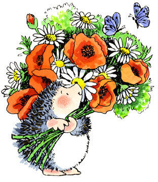 Bountiful - Rubber Stamp