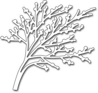 Winter Branch - Penny Black Die