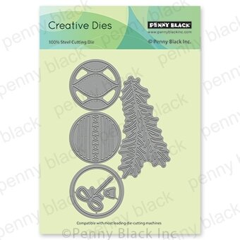 Beautified Baubles Christmas Ornaments - Craft Die