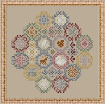 Eightsome Reel - Cross Stitch Pattern
