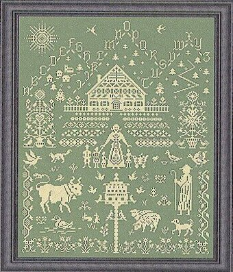 A Simpler Life - Cross Stitch Pattern