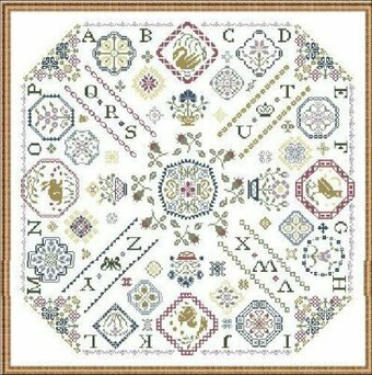 Ring O' Roses - Cross Stitch Pattern