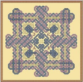 Lover's Knot - Cross Stitch Pattern