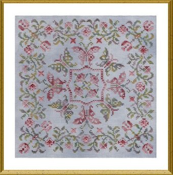 Free Celtic Cross Stitch Pattern & Design