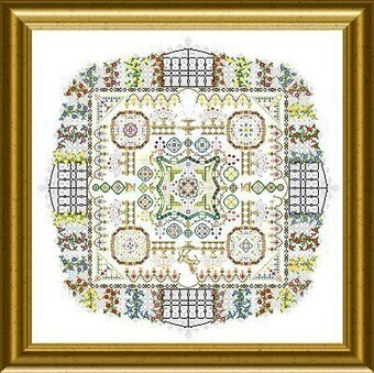 Castle Garden - Cross Stitch Pattern