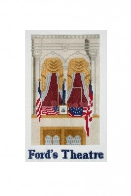 Ford's Theater - Cross Stitch Kit