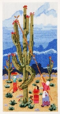 Saguaro Harvest - Cross Stitch Kit