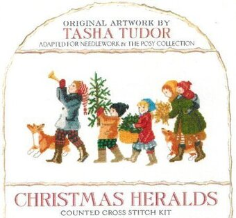 Christmas Heralds - Cross Stitch Kit