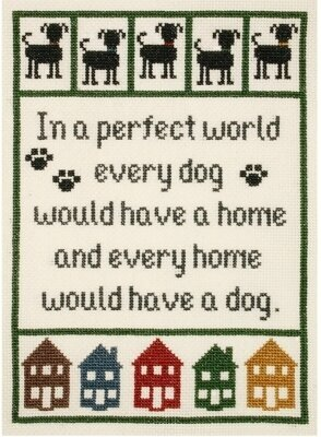 Dog Lover's Sampler - Cross Stitch Kit