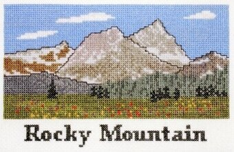 Rocky Mountain - Cross Stitch Kit