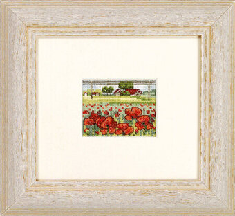 Poppy Field - Cross Stitch Kit