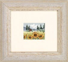 Sunflower Field - Cross Stitch Kit