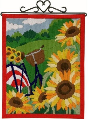 Sunflowers - Long Stitch Kit