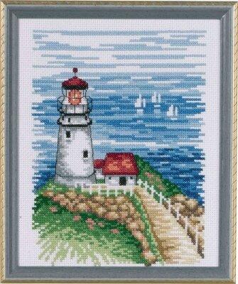 Panna Cross Stitch Kit Guiding Lighthouse