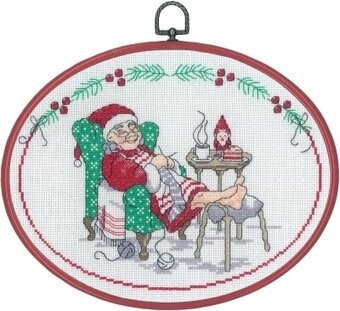 Elf Resting - Cross Stitch Kit