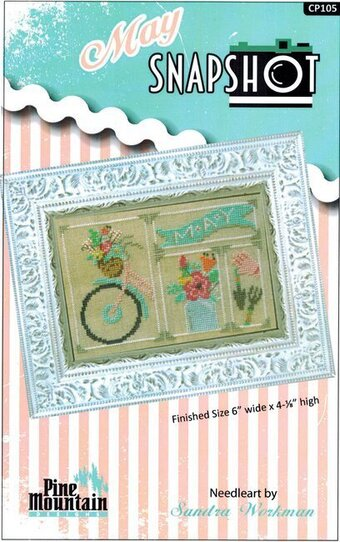 May Snapshot - Cross Stitch Pattern