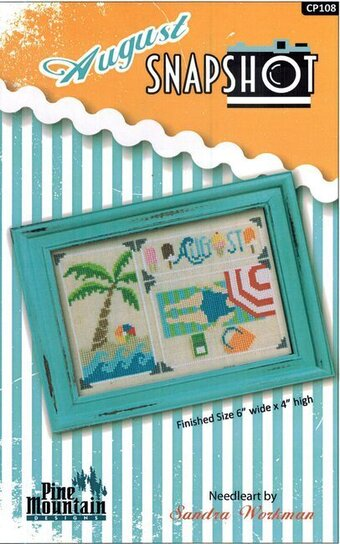 August Snapshot - Cross Stitch Pattern
