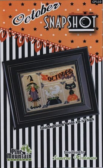 October Snapshot - Cross Stitch Pattern