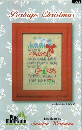 Perhaps Christmas Linen - Cross Stitch Kit