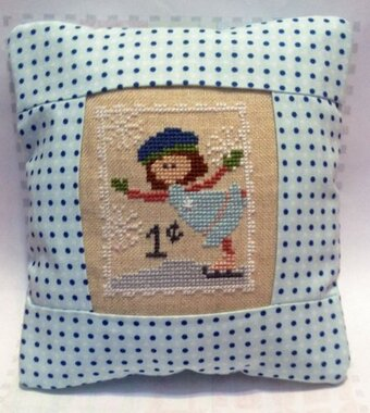 January Stamp - Special Delivery - Cross Stitch Kit