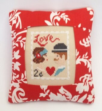 February Stamp - Special Delivery - Cross Stitch Kit
