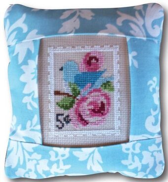 May Stamp - Special Delivery - Cross Stitch Kit