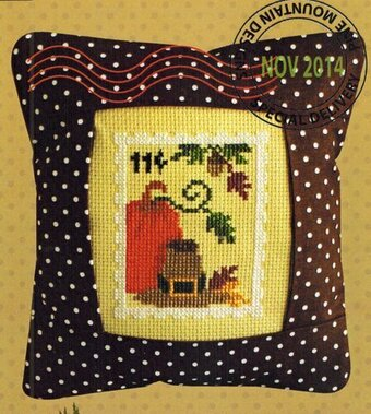 November Stamp - Special Delivery - Cross Stitch Kit