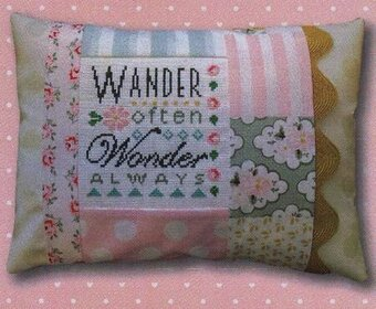 Wonder Always Pillow - Cross Stitch Kit