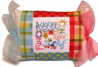 August Expressions Pillow - Cross Stitch Kit