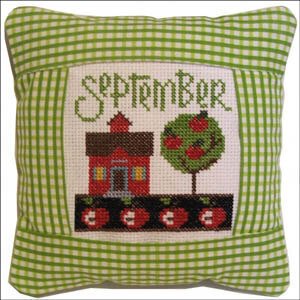 September 2011 Small Pillow Kit - Cross Stitch Kit