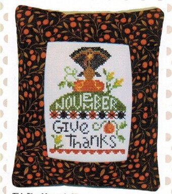 November Give Thanks Cross Stitch Kit