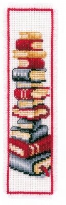 Book Lover Bookmark - Cross Stitch Kit
