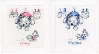 Baby Laundry - Cross Stitch Kit