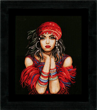Gypsy Girl - Cross Stitch Kit
