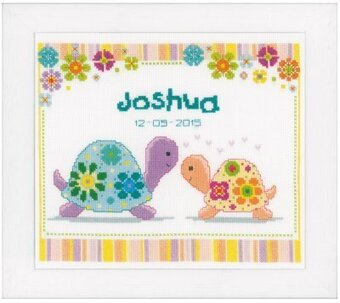 Colourful Turtles - Cross Stitch Kit