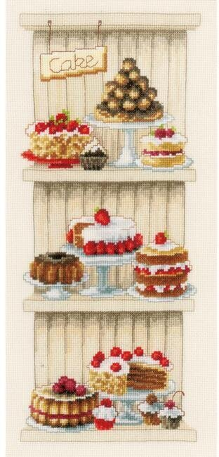 Delicious Cakes - Cross Stitch Kit