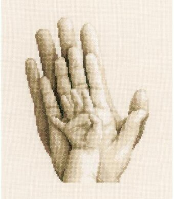Hands - Cross Stitch Kit