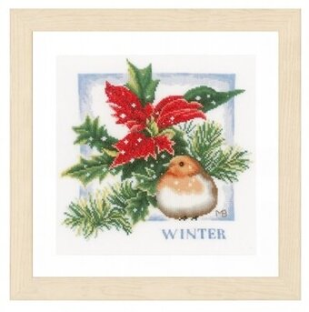 Winter (Marjolein Bastin) - Cross Stitch Kit