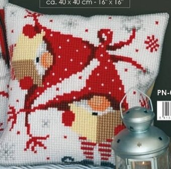 Christmas Gnome II - Cushion - Needlepoint Kit