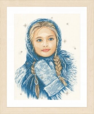 Winter Girl - Cross Stitch Kit