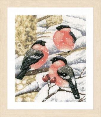 Bullfinch - Marjolein Bastin - Cross Stitch Kit