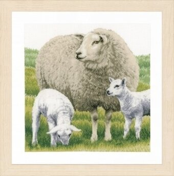 Sheep (Evenweave) - Cross Stitch Kit