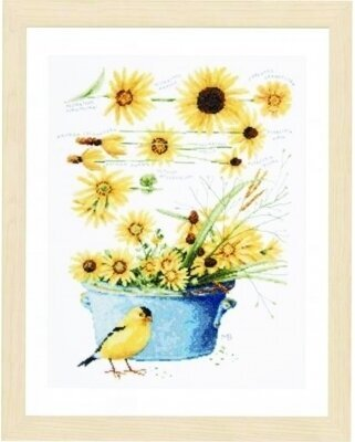 All Things Yellow - Cross Stitch Kit