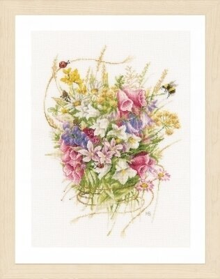 Summer Flowers - Marjolein Bastin - Cross Stitch Kit
